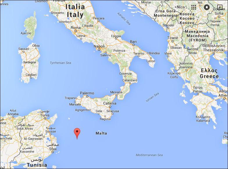 Situering Lampedusa